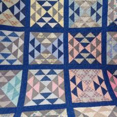 Vintage Feed sack Quilt