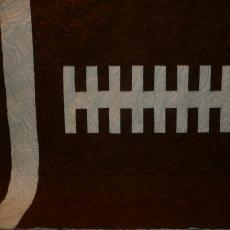 Jacob's Football Quilt