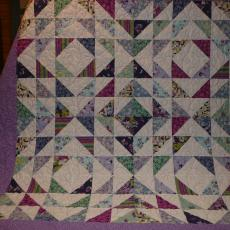 Peggy's Quilt (First Quilt)