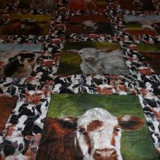 Garret's Cow Quilt