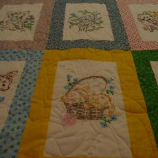 A quilt for a great-nephew