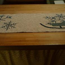 Sleigh Table Runner