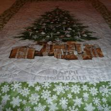 Christmas Tree Panel Quilt
