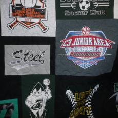 Andrew's T-shirt Quilt