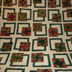 Christmas Raffle Quilt