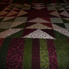 Flannel Christmas Quilt