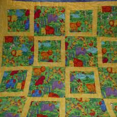 Jungle Animals CASA Quilt #1