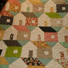 Anne's Housewarming House Quilt