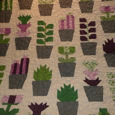 Blooming Pots Quilt