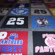 Charlee's T-shirt Quilt