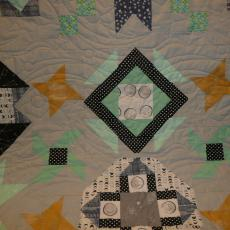 William's Outer space Quilt