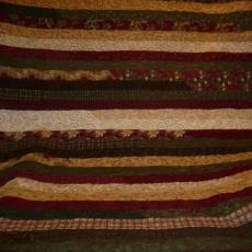 Christmas Jelly Roll Quilt