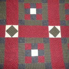 Red Flannel Quilt