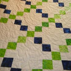 Josh and Sydney's Wedding Quilt