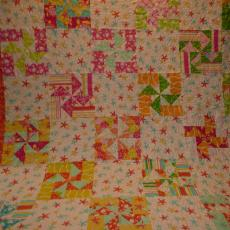 Selah's 5th Birthday Quilt