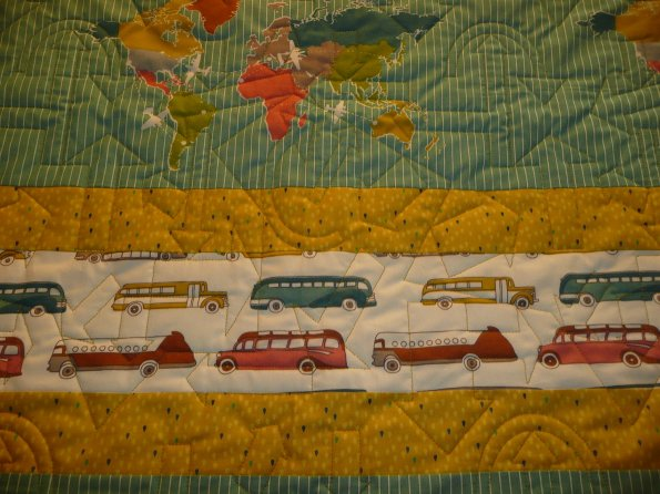 Tyler's Travel Quilt
