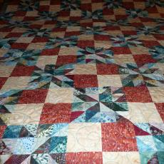 Alyce's Orion Star Quilt