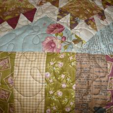 Alyce's Bear Paw Quilt