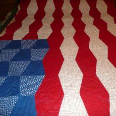 Alyce's Flag Quilt