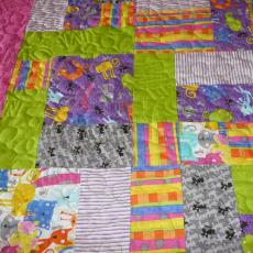 Amy's Kitty Meow Quilt