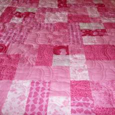 Amy's Pink Ribbon Quilt