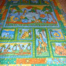 Barb's Jungle Baby Quilt