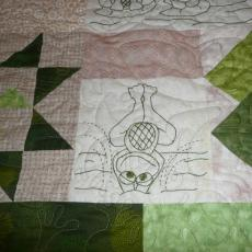 Barb's Frog Work Quilt