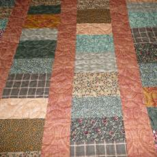Barbara's Chinese Coin Quilt