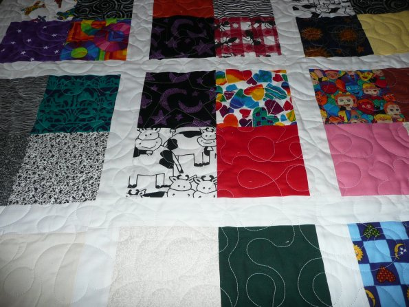 A Quilt for a 2 year old