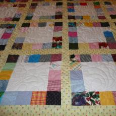 Betty's Square Around a Square Quilt