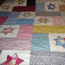 Betty's Star Quilt