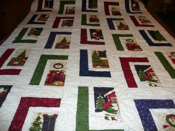 Bev's Christmas Quilt