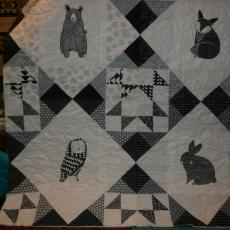 Hunter's Baby Quilt
