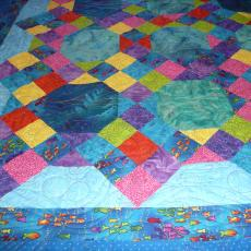 Bonnie's Fishy Mystery Quilt