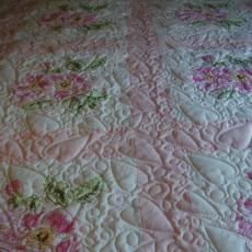 Carol's Hearts and Roses Quilt