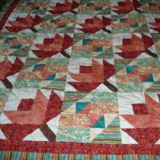 Carol's Maple Leaf Quilt