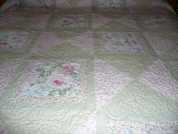 Carolyn's  Rose Quilt