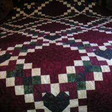 Carrie's Heart Quilt