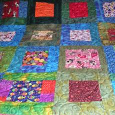 LQG High School Cuddle Quilt