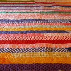 Dallas's Jelly Roll Quilt