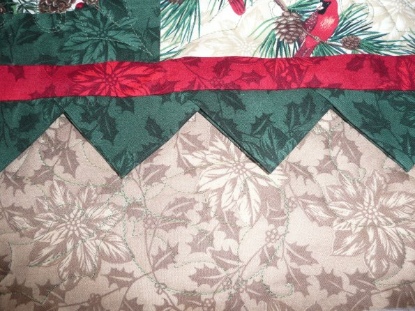 Delores's Cardinal Christmas Quilt