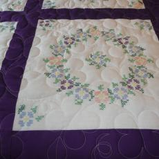 Diane's Embroidered Quilt