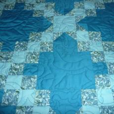 Jeff and Tricia's Wedding Quilt