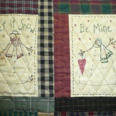 Snowmen of the Month Quilt