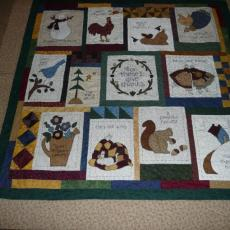 Doreen's Applique Quilt