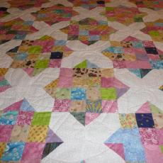 Evelyn's Counting Sheep Baby Quilt