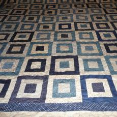 Indigo Pathways Quilt