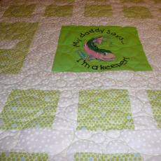 A Quilt for Tami's Baby