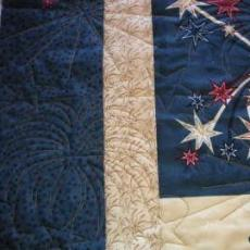 Jana's 4th of July Quilt