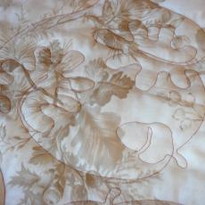 Jane's Back to Nature Quilt backing